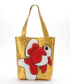 <編む。><RYOTA MURAKAMI>トートバッグ:金魚(Bag-2):三越・伊勢丹オンラインストア