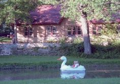 Take a boat ride in Krape Park!