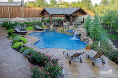 Easy And Cheap Diy Ideas: Rectangle Fire Pit Ideas easy fire pit back yard.Fire Pit Decor Coffee Tables fire pit wall back yard.Fire Pit Wall Back Yard. Small Backyard Pools, Backyard Pool Landscaping, Backyard Pool Designs, Swimming Pools Backyard, Fire Pit Backyard, Inground Pool Designs, Gazebo, Custom Pools, Dream Pools