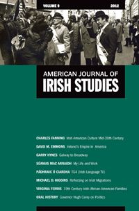 In Volume 9 of AJIS historian Virginia Ferris introduces readers to a community of Irish-African American families living in Greenwich Village just 10 years after the 1863 Draft Riots shook New York City, providing a deeper look at ethnic and race relations in post Civil War Manhattan.
