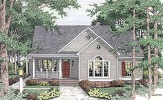 Plan W6293V: Traditional, Country, Cottage House Plans & Home Designs