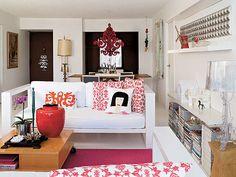 Miami apartment of Rita Motta and husband Michael Perez.
