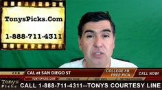 California Golden Bears vs. San Diego St Aztecs Pick Prediction College ...