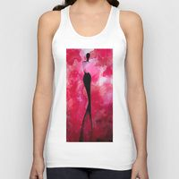 Unisex Tank Top featuring Passionate Glow by Lindsey Kate