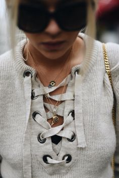 love this sweater! #crisscross