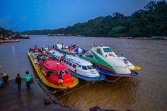 Boats to Sibu  http://www.unchartedbackpacker.com/borneos-heart-belaga-kapit-sarawak-malaysia/  #travel #adventure #wanderlust #photography #borneo #malaysia #unchartedbackpacker