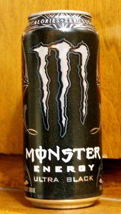 Monster energy ultra black. Really good