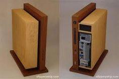 Resultado de imagem para homemade wooden pc case