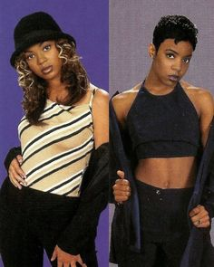 Beyoncé & Kelly Rowland 1997 ❤️#90s #90sculture #90srnb #rnb #destinyschild #beyoncé #kellyrowland #letoyaluckett #lataviaroberson #classic #oldschool #tbt #throwback #backintheday #legend #rnbmusic #nonono