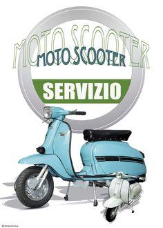 lambretta poster - Google Search Mod Scooter, Lambretta Scooter, Classic Vespa, Scooters, Greece, Motorcycle, Bike, Princess, Google Search