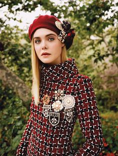 Elle Fanning by Angelo Pennetta for Vogue US September 2015 - CHANEL Fall 2015