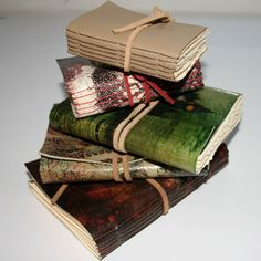 For all those words left unspoken, yet looking for a home. Printed Leather Journal Notebooks