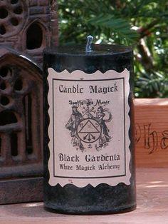 White Magick Alchemy - Black Gardenia Candle Magick 2x3 Pillar . Lunar Magick, Love, Peace, Compassion, Dream Works, Fertility, Healing, Psychic Awareness, $9.95 (http://www.whitemagickalchemy.com/black-gardenia-candle-magick-2x3-pillar-lunar-magick-love-peace-compassion-dream-works-fertility-healing-psychic-awareness/)