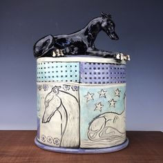 Sarah Regan Snavely is a studio artist & sculptor who works in North Dakota making clay sculptures, handmade tile & sterling silver jewelry. Dog Sculpture, Animal Sculptures, Handmade Tiles, Handmade Pottery, Greyhound Art, Old Advertisements, Lurcher, Ceramic Figures, Dog Paintings