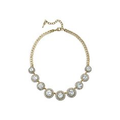 Classic. Beautiful for Weddings! Retro Pavé Collar Necklace #bridesmaidjewelry #bridesmaid www.chloeandisabel.com/boutique/amberillo