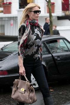Claudia Schiffer Leather Tote - Claudia Schiffer Looks - StyleBistro
