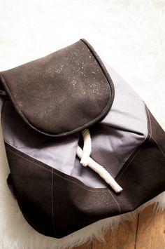 Rucksack nähen leicht gemacht - Idee im Link