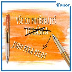 we #love #Pilot :) #happywriting