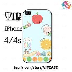 Fruit kawaii iPhone 4 Case, iPhone case, iPhone