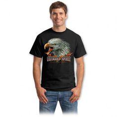 Tricouri cu vulturi – Tricou Untamed Spirit Bad To The Bone, Graphic Design Inspiration, Mens Tops, Vintage, Choppers, Spirit, Fashion, Moda, Fashion Styles