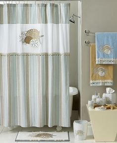 Avanti By The Sea Bath Collection - Bathroom Accessories - Bed & Bath - Macy's