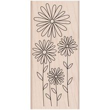 Hero Arts® Daisies Rubber Stamp