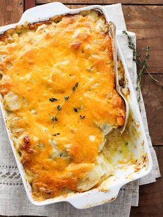 Cheesy Scalloped Potatoes via Foodie Crush, April 2014 #recipe