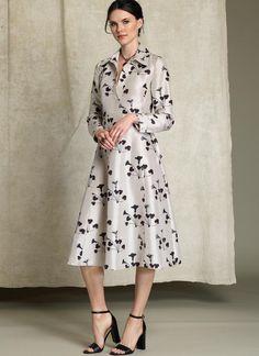 Rachel Comey shirtdress pattern for Vogue Patterns. V1511.