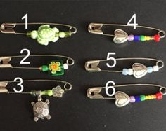Disciplined Crystal Beads And Safety Pens Home Arts & Crafts