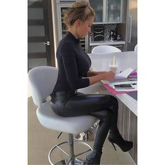 Having a seat at a counter