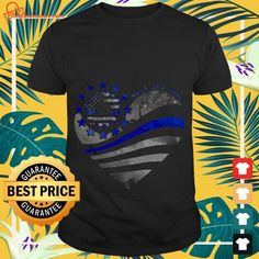 Sunflower Hearts, Police Shirts, Go With Me, Left Alone, Heart Shirt, Surgery, Tee Shirts, Amazon, Mens Tops