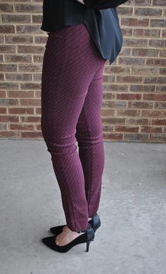 Stitch Fix #12: Transitioning to Fall // Erica Taylor Karen Printed Straight Leg Pant // Safari with Sarah