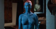 'X-Men: Days of Future Past' Gets Rated PG-13 for Nudity and Violence -- Jennifer Lawrence's blue skin and a topless Hugh Jackman help land the rating, which also notes action, some suggestive material and language. -- http://www.movieweb.com/news/x-men-days-of-future-past-gets-rated-pg-13-for-nudity-and-violence