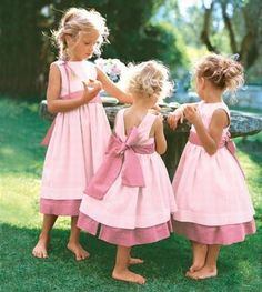 seriously cute flower girls