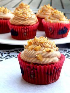 Z ghetta blog: Banánové cupcakes s burákovým máslem
