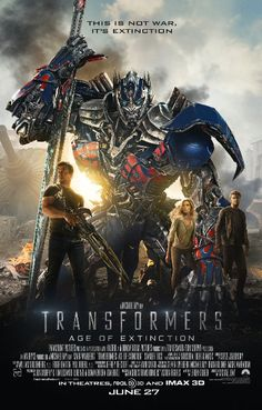 Autobots must escape sight from a bounty hunter who has taken control of the human serendipity: Unexpectedly, Optimus Prime and his remaining gang turn to a mechanic (Mark Wahlberg), his daughter (Nicola Peltz), and her back street racing boyfriend (Jack Reynor) for help.