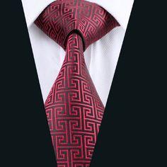 DN-554 Men s 100% Jacquard Woven Silk Ties Necktie Free P&P! Clearance Sale!