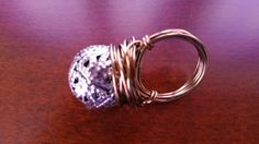 Silver Globe Ring by CreativeCultures on Etsy