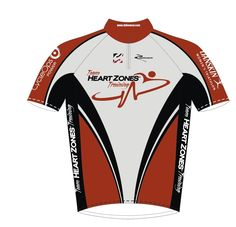 Team Heart Zones Cycling Jersey.jpg 1,280×1,232 pixels  like the v design.  feels like it's slimming. also i can imagine the orange colors as being maroon keeping the black and white with the rusty spokes logo on the front.