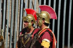 Roman soldiers help to strengthen the Confederation.