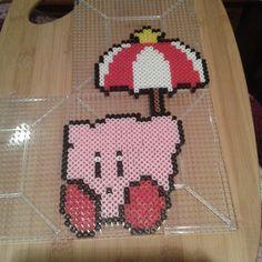 Kirby perler beads by Eleka Peka