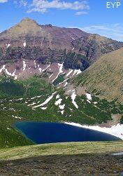 Pitamakan Lake, Dawson Pass Trail - Pitamakan Pass Trail Loop, Glacier National Park | Enjoy Your Parks