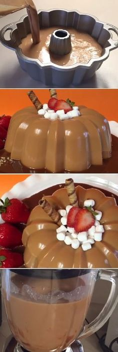 28 New Ideas For Chocolate Pudding Cheesecake Gelatin Recipes, Jello Recipes, Mexican Food Recipes, Sweet Recipes, Dessert Recipes, Jello Desserts, Cookie Desserts, Just Desserts, Delicious Desserts