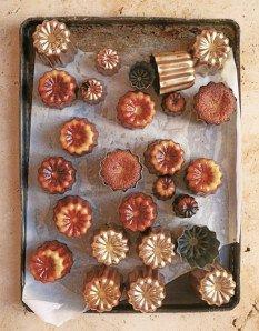 Caneles de Bordeaux from Le Pain Quotidien Cookbook by Alain Counmont v2