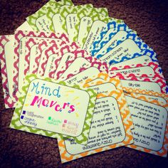 Sparkles, Smiles, and Successful Students: Mind Movers FREEBIE!
