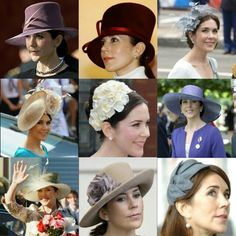 """myfavoriteroyals: """"Royals Wear Hats Spam Crown Princess Mary of Denmark """""""