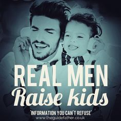 Lead by example! #TheGuidefather #Dads #Men #RaiseKids #LeadByExample #Fathering #Babies #Raise #Love #Family #Life