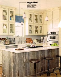 Reclaimed Wood Island