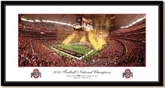 Ohio State Buckeyes - Against All Odds 2015 National Championship - Panoramic Picture