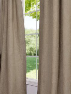 Burlap French Linen Curtain